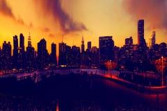 ManhattanMidtownOnARedSunsetFromLongIslandCityShore_warped_reflected_1600