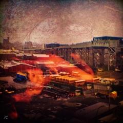 BrooklynNearSmithStreetFoggyFromAbove+girl_ChannelMixed_Industrial Slumber