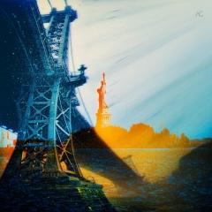 VerticalPanoOfWilliamsburgBridgeInSnowAndFog+Liberty_ChannelsMixed