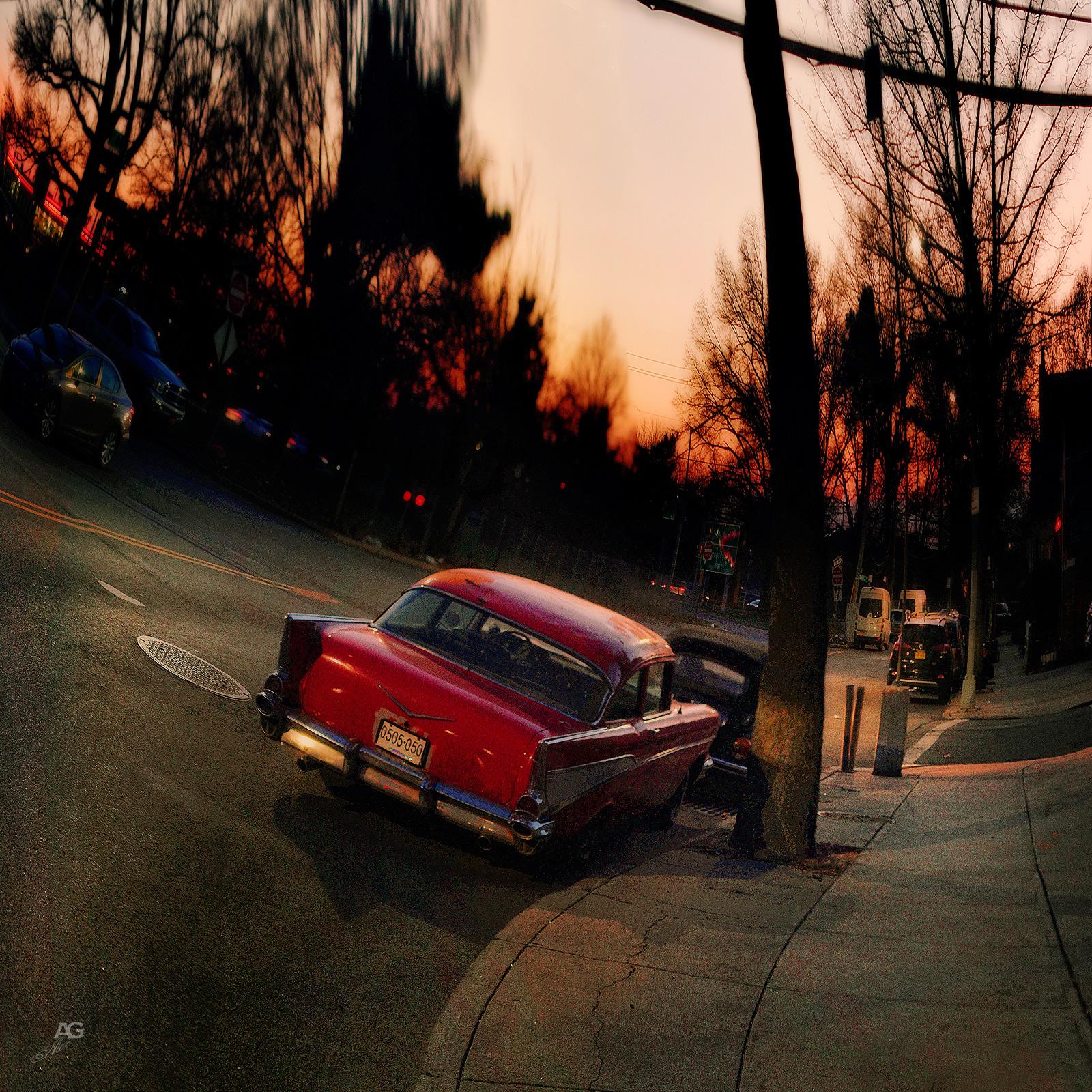 VintageChevroletOnASUnsetBrooklynStreet_warped_1600