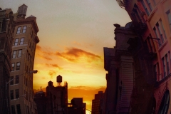 SunsetInDowntownManhattan_warped_1600