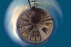 TrainOnSunsetConeyIslandSubwayStation_POLAR_1600