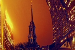 ChurchNearWTC_InNightWinterFog_warped