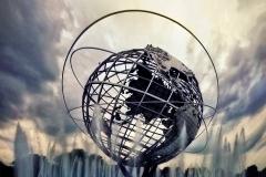 LargeGlobeInFreshMeadowsParkOverClouds_warped_1600