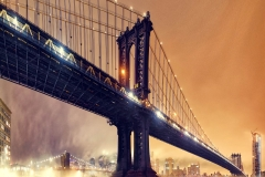 ManhattanBridgeInLightFogAtNightTwoTie_warpedr_1600